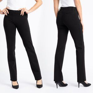 Betabrand Blk Straight Leg Classic Dress Yoga Pant